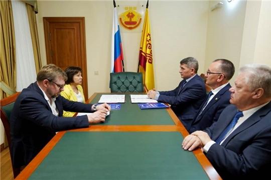 Подписано соглашение между Кабинетом Министров Чувашии и Всероссийской федерацией школьного спорта