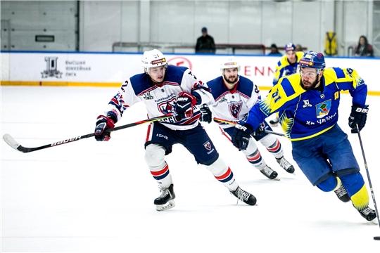 Хоккейный клуб «Чебоксары» провел первые предсезонные матчи