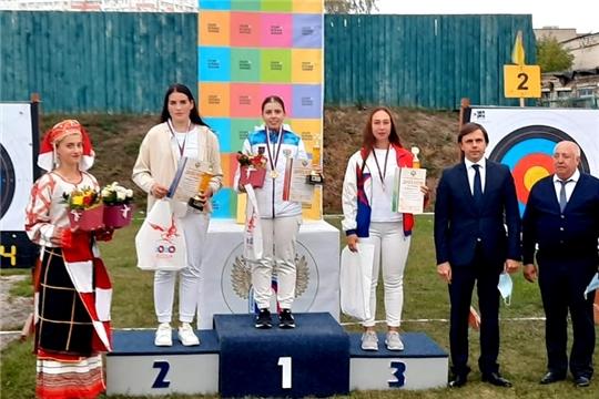 Ульяна Андреева выиграла «серебро» первенства России по стрельбе из лука