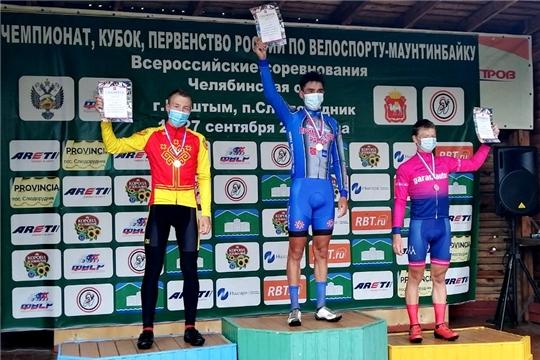 Евгений Евграфов - серебряный призер юниорского первенства России по маунтинбайку