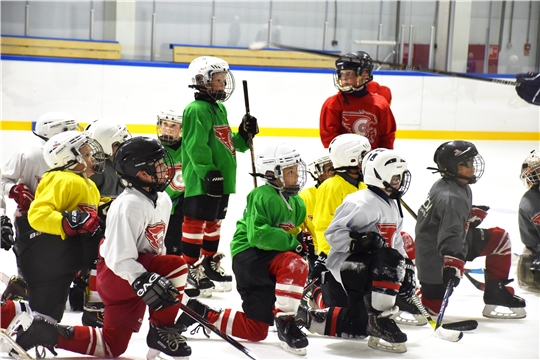 В Региональном центре по хоккею начались тренировочные мероприятия