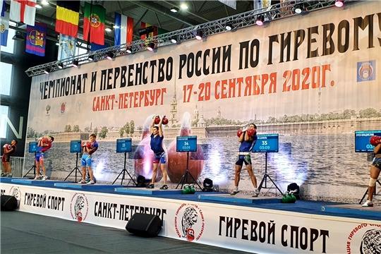 Гиревик Анатолий Узюкин - серебряный призер юниорского первенства России