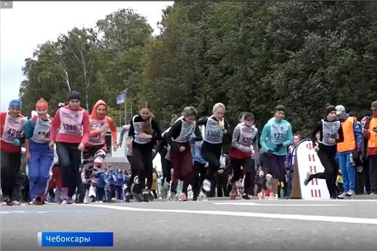 В Чувашии в «Кроссе нации» участвовали 9 тысяч человек
