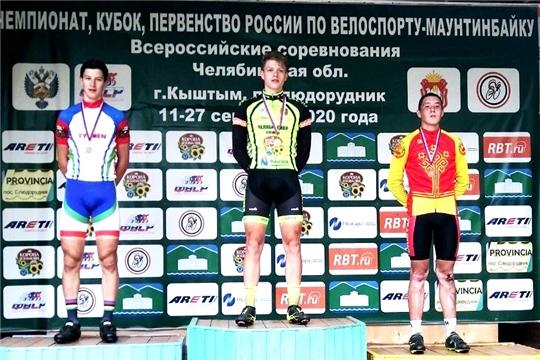 Алексей Анисимов выиграл «бронзу» первенства России по маунтинбайку