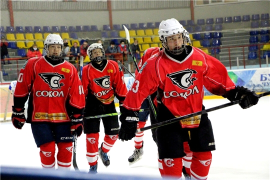 26 сентября состоится первый матч молодежной хоккейной команды «Сокол» в Первенстве НМХЛ