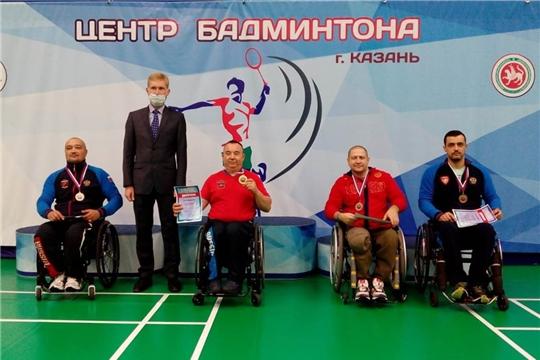 Парабадминтонисты Чувашии выиграли 13 медалей 1-ого этапа Кубка России