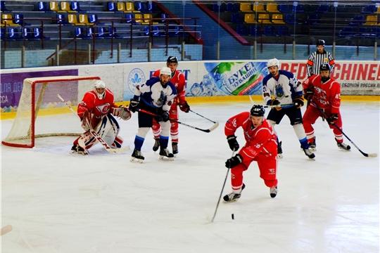 Молодежный хоккейный клуб «Сокол» провел дебютный матч первенства НМХЛ