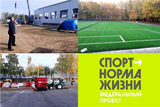 «Спорт – норма жизни»: Василий Петров проинспектировал ход строительства спортивных объектов