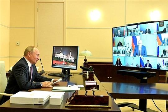 Президент России Владимир Путин провёл заседание Совета по развитию физической культуры и спорта