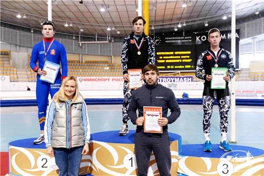 Конькобежец Тимур Карамов выиграл две медали всероссийских соревнований