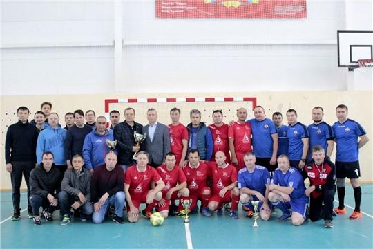 Разыграны награды турнира по мини-футболу среди ветеранов республики
