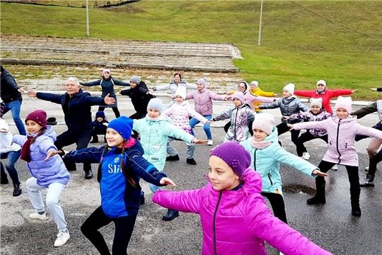 Проект «Аэробика-это просто! От 4-х до 90-а!» набирает популярность среди спортивных семей Чувашии