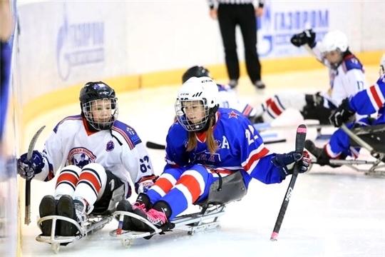 Детская следж-хоккейная команда «Атал» – серебряный призер турнира Ленинградской области