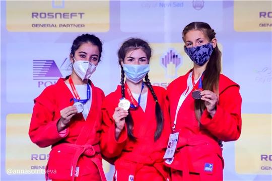 Татьяна Федорова выиграла «золото» первенства мира по самбо
