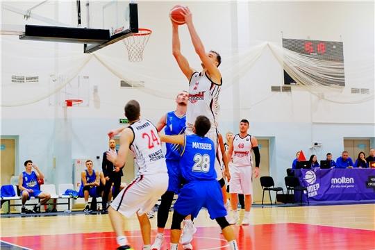 Баскетбольный клуб «Чебоксарские ястребы» провел очередные матчи чемпионата России