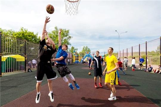В столице Чувашии появится уличная баскетбольная площадка в рамках всероссийской программы «ПСБ-детям»