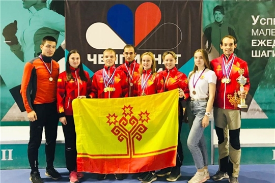 Сборная Чувашии вернулась с медалями чемпионата России по спортивному туризму