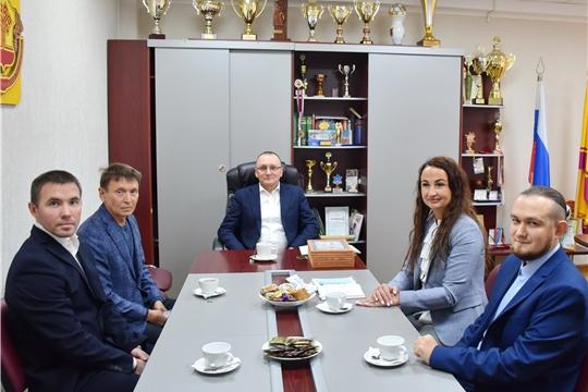 Рабочая встреча министра В.В.Петрова с членами Общественного Совета Минспорта Чувашии (состав 2020 года)