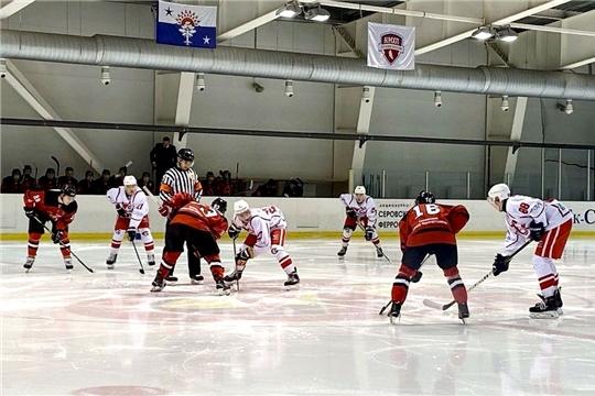 Молодежный хоккейный клуб «Сокол» одержал свою первую победу