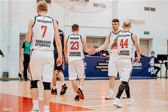 Баскетбольный клуб «Чебоксарские ястребы» обыграл челябинский «Челбаскет»