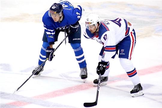 Хоккейный клуб «Чебоксары» одержал победу в третьей подряд серии матчей