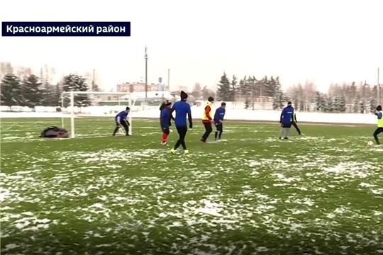 В с. Красноармейское построили новое футбольное поле
