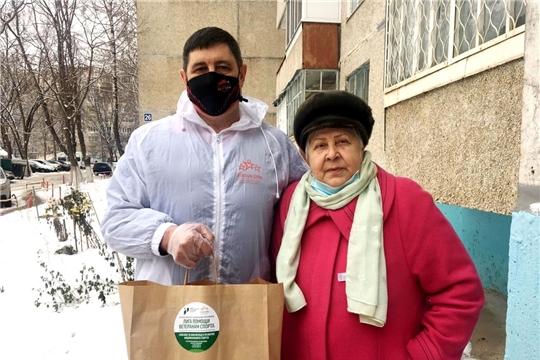 Спортсмены Чувашии продолжают всероссийскую акцию помощи ветеранам спорта