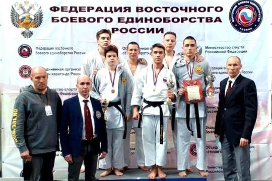 Сборная Чувашии вернулась с медалями Кубка России по Восточному боевому единоборству Сетокан