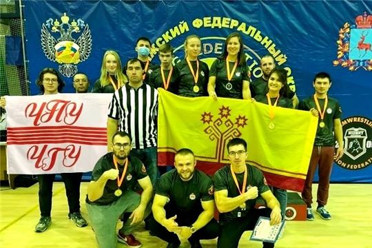 11 медалей привезли армрестлеры Чувашии с чемпионата и первенства Поволжья