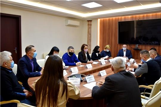 Заседание нового состава Общественного совета при Минспорта Чувашии