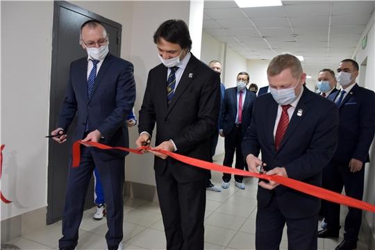 В Чебоксарах открылся специализированный зал тяжелой атлетики