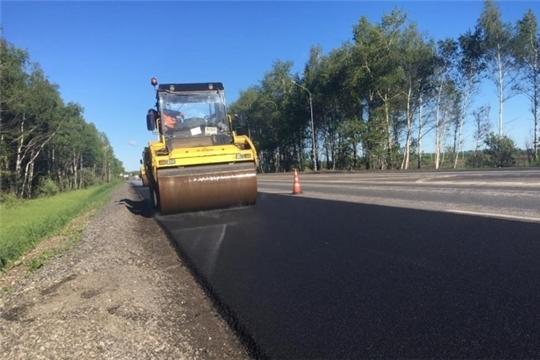 Определен подрядчик на ремонт автомобильной дороги Чебоксары-Сурское в Шумерлинском районе Чувашской Республики