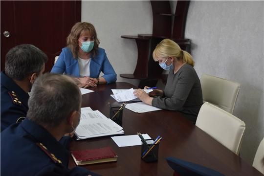 Обсуждены вопросы взаимодействия  с УФСИН России по Чувашской Республике - Чувашии