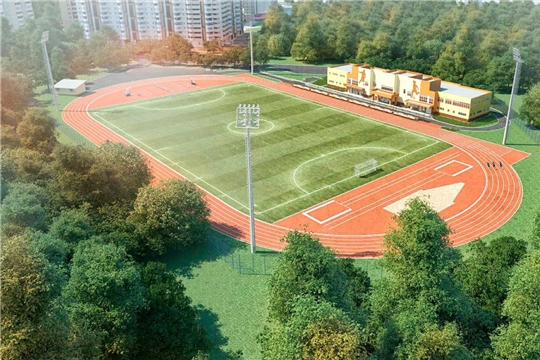 Объявлен аукцион на строительство футбольного поля в с. Ишлеи Чебоксарского района Чувашской Республики