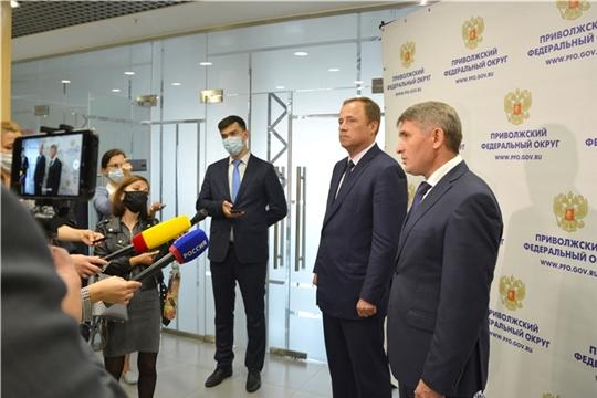Игорь Комаров обсудил вопросы социально-экономического развития Чувашской Республики и подготовку региона к Единому дню голосования