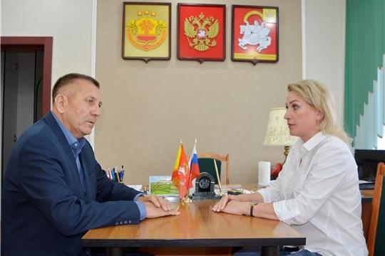 Руководитель Госслужбы Чувашии по конкурентной политике и тарифам Надежда Колебанова посетила Яльчикский район