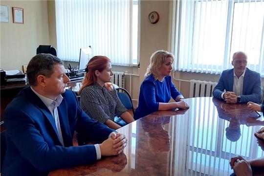 Руководитель Госслужбы Чувашии по конкурентной политике и тарифам Надежда Колебанова и представители Госслужбы с рабочим визитом посетили г. Ульяновск