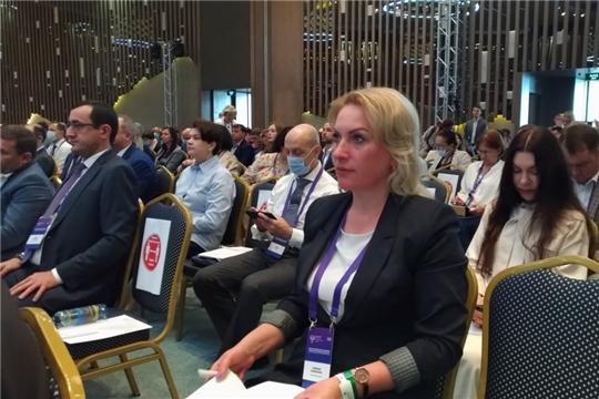 Руководитель Госслужбы Чувашии по конкурентной политике и тарифам Надежда Колебанова принимает участие в V юбилейном Всероссийском семинаре-совещании по тарифному регулированию