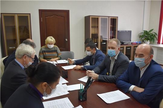 Первое заседание Общественного совета при Госслужбе Чувашии по конкурентной политике и тарифам