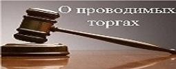 О проводимых (проведенных) торгах (конкурсах и аукционах)