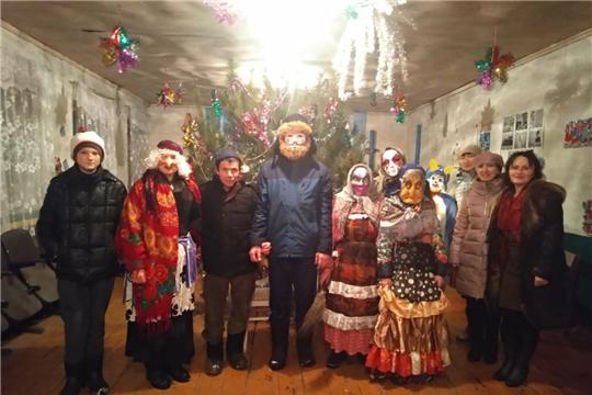 Встреча Нового года в деревне Старое Муратово