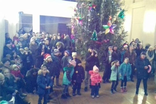 Новый год в Челкасинском СДК