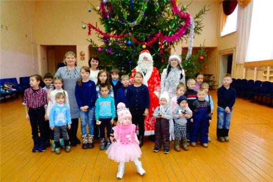 В Арабосинском сельском Доме культуры прошло праздничное мероприятие «Рождественские забавы»