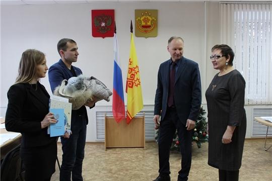В Урмарском районе зарегистрирован первый ребенок, родившийся в 2020 году