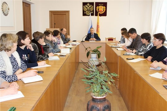 Семинар-совещание со специалистами городского и сельских поселений района