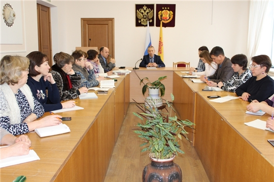 Семинар-совещание со специалистами городского и сельских поселений района Урмарского района