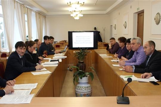 Рабочие встречи с активами Шоркистринского сельского и Урмарского городского поселений