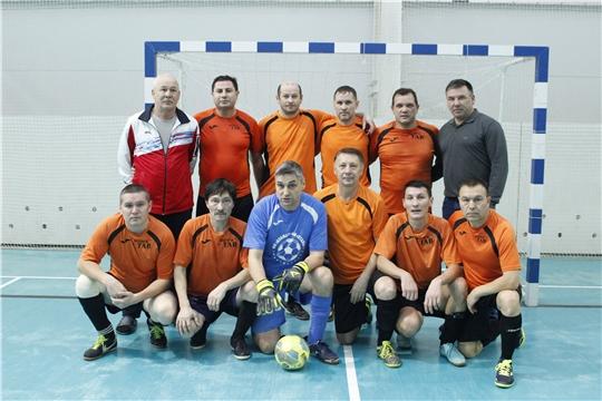 Команда Урмары - Волга Тав - бронзовый призер первенства Чувашии  по мини-футболу среди ветеранов