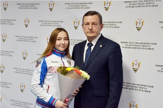 Михаил Богаратов встретился с победителями и призерами первенств России по самбо