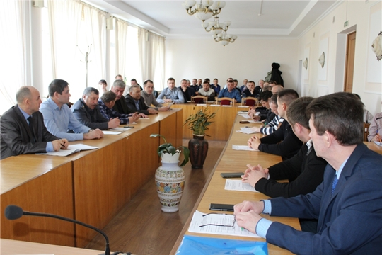 Аграрии Урмарского района наметили задачи на 2020 год